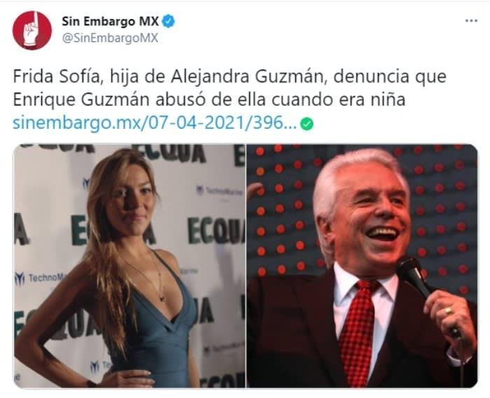 Enrique Guzmán manoseando Frida Sofía Alejandra Guzmán 5