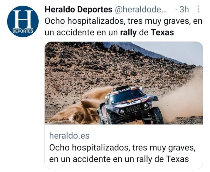 Accidente de rally