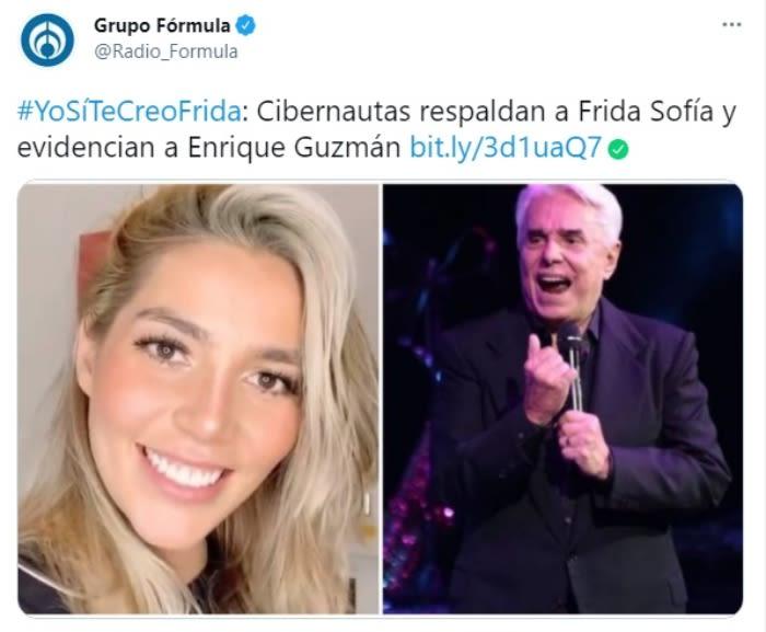 Enrique Guzmán manoseando Frida Sofía Alejandra Guzmán 4
