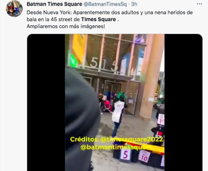 Tiroteo Times Square