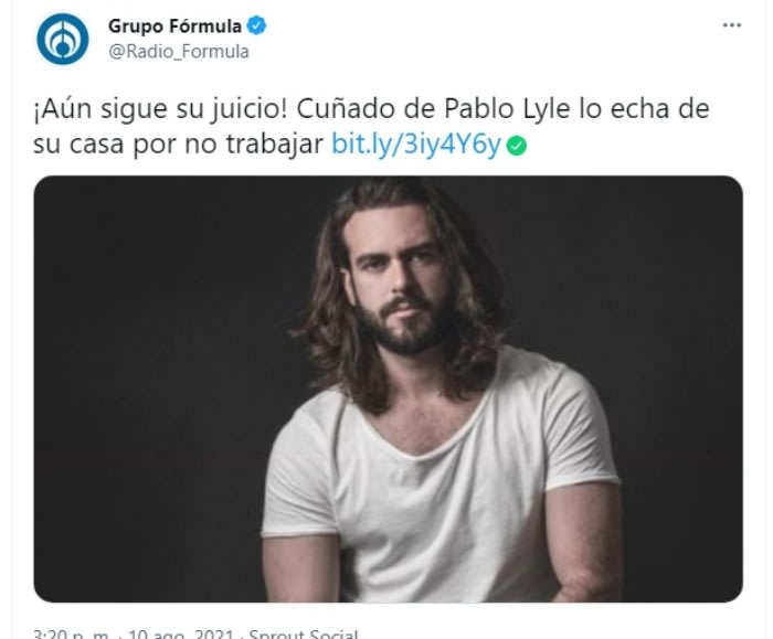 Pablo Lyle brother-in-law problems