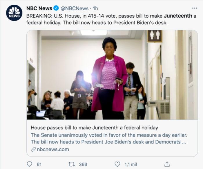 El Congreso dio la noticia este miércoles