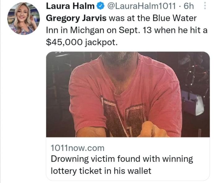 Gana lotería dos veces