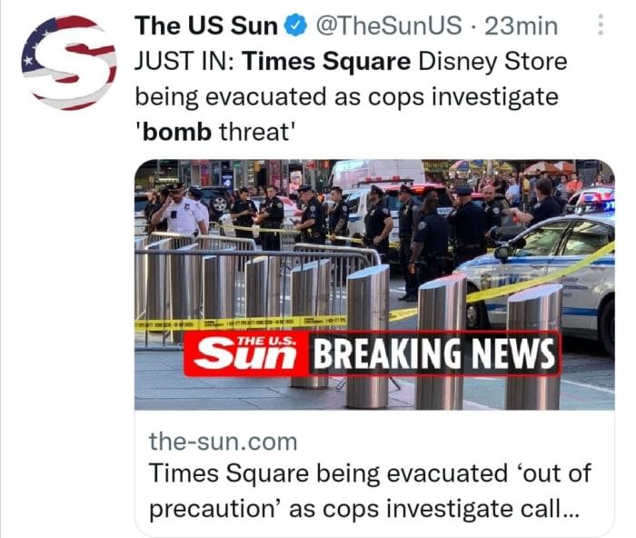 Bomba en Times Square