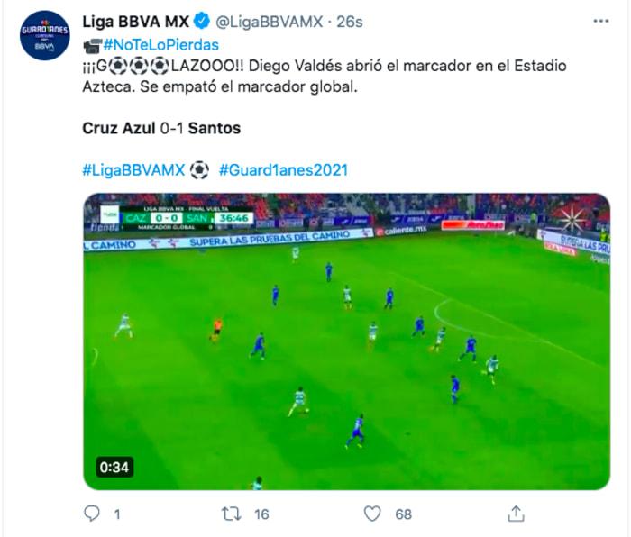 final Cruz Azul Santos