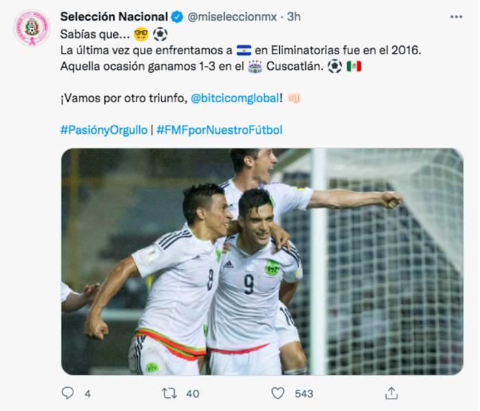 El Salvador Vs México: Tri ante rotaciones con El Salvador
