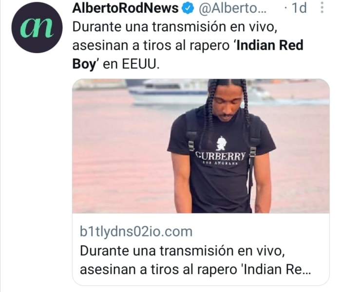Indian Red Boy