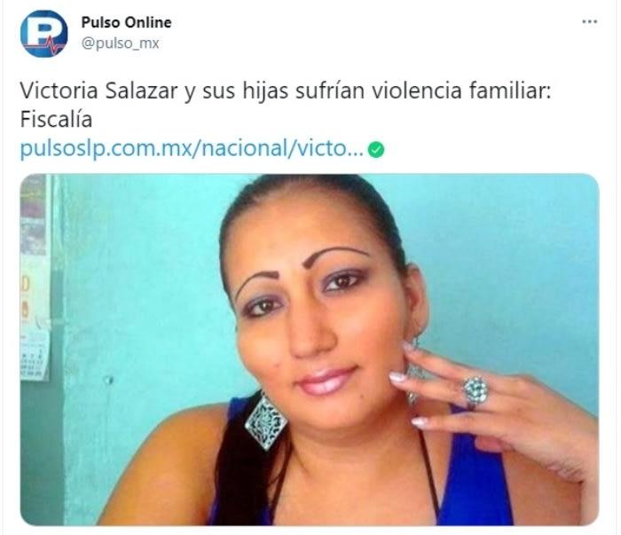Victoria Salazar Migrante salvadoreña violencia familiar 4