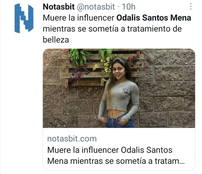 Odalis Santos Mena