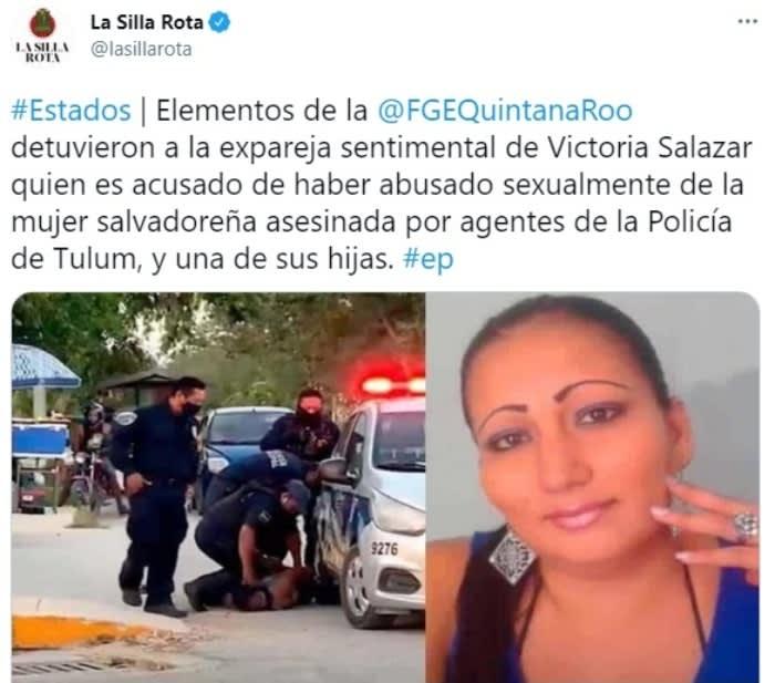 Victoria Salazar Migrante salvadoreña violencia familiar 5