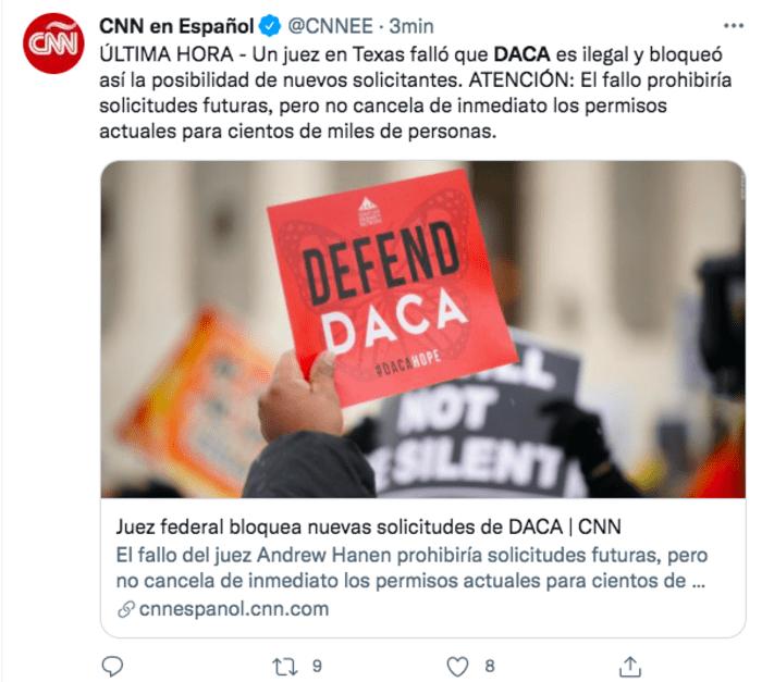 Juez Texas fallo DACA: Dan mala noticia a inmigrantes