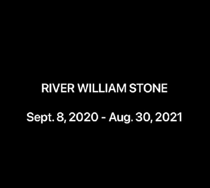 Sharon Stone says goodbye to her nephew