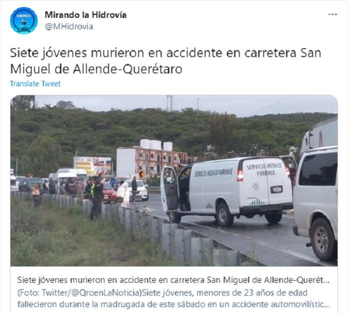 Jóvenes mexicanos que murieron venían de un baile