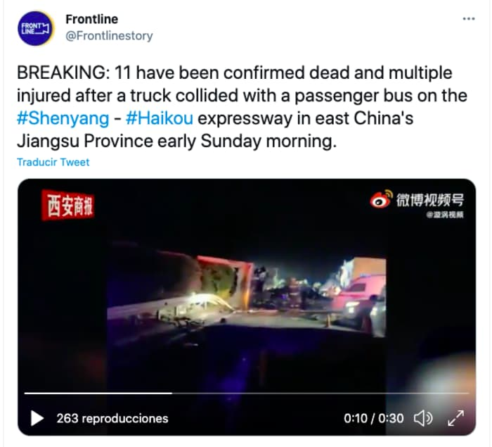 Shock in China