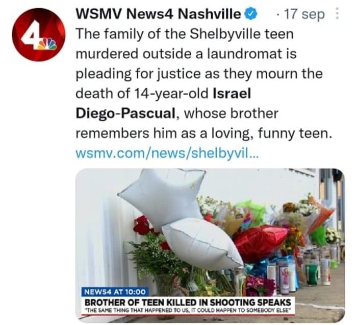 Asesinato niño en lavandería