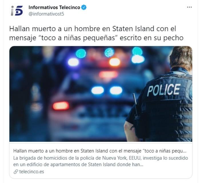 Asesinan hombre dejan mensaje