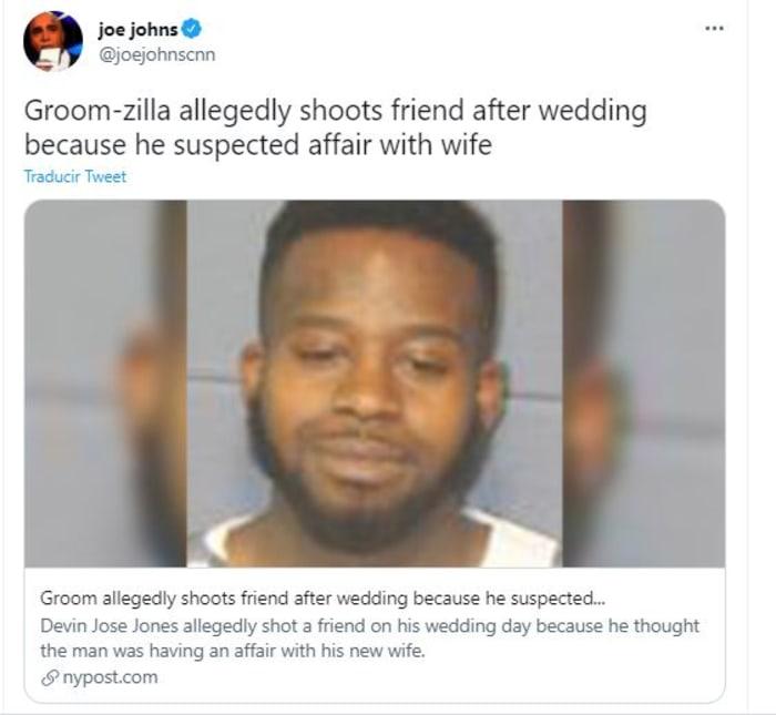 le disparó a amigo