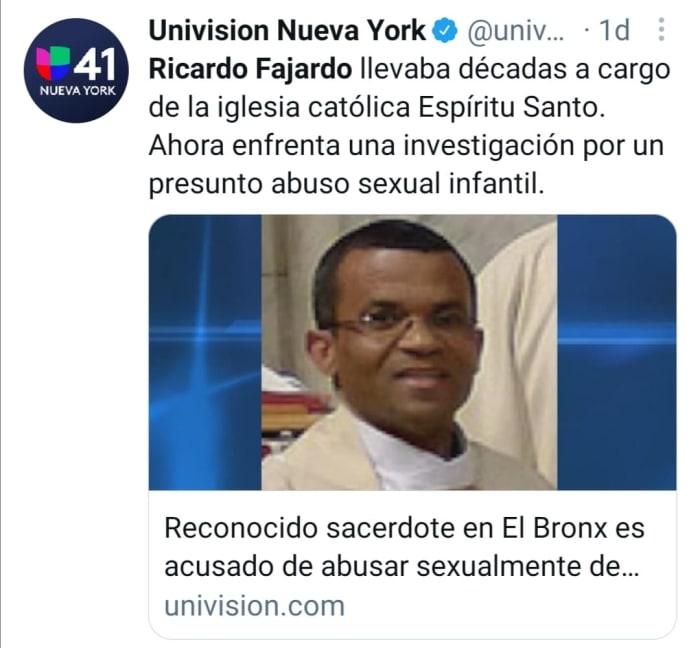 Pastor dominicano abusar menor