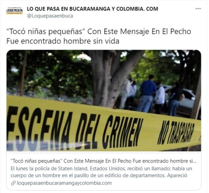 Asesinan hombre dejan mensaje: Antecedentes criminales