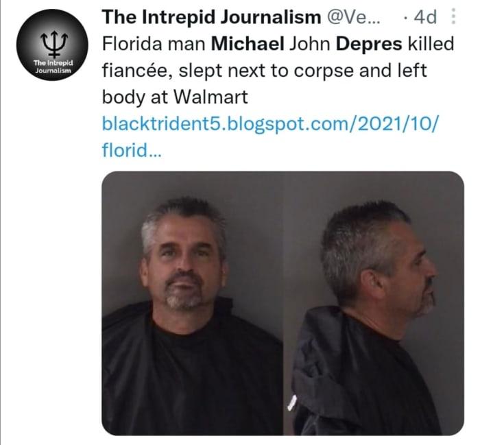 Cadáver camioneta
