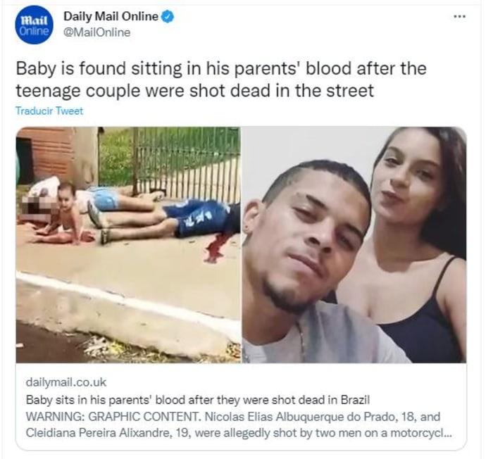mataron a pareja latina