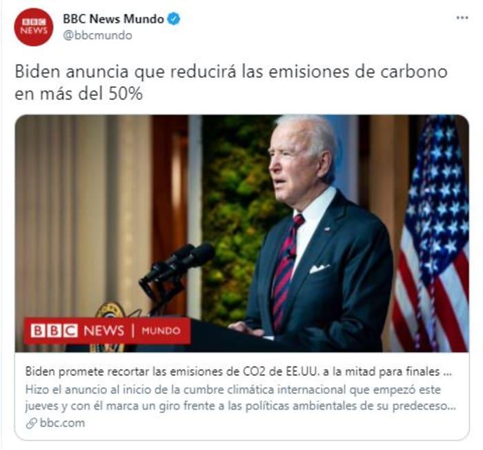 biden sobre cambio climático