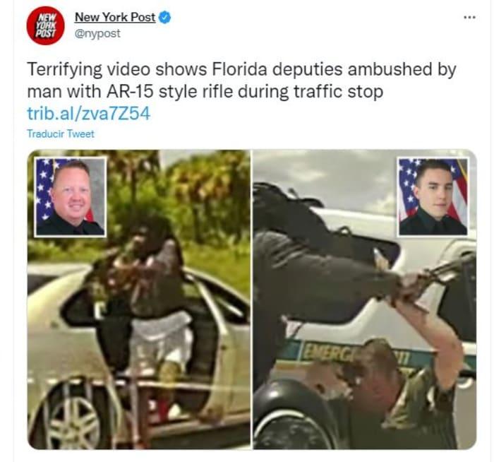 Emboscada contra policías