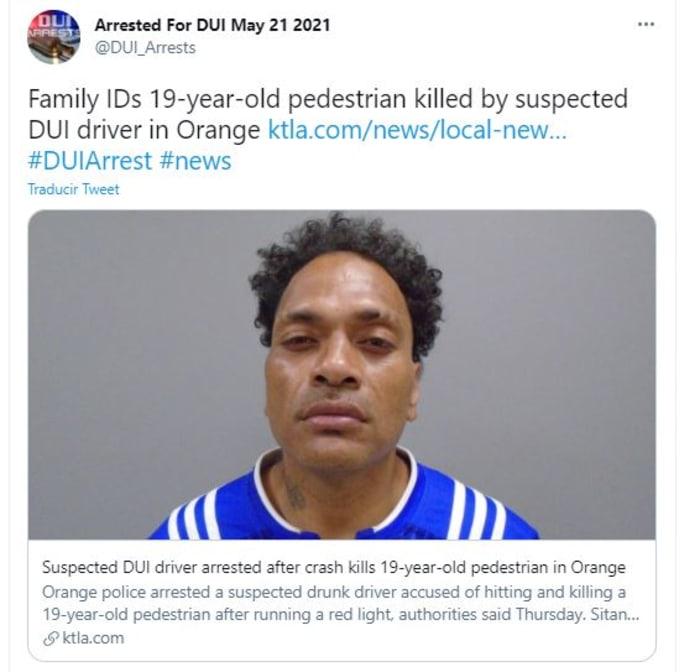 Conductor sospechoso de DUI