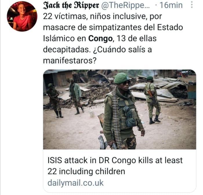 Ataca ISIS en Congo