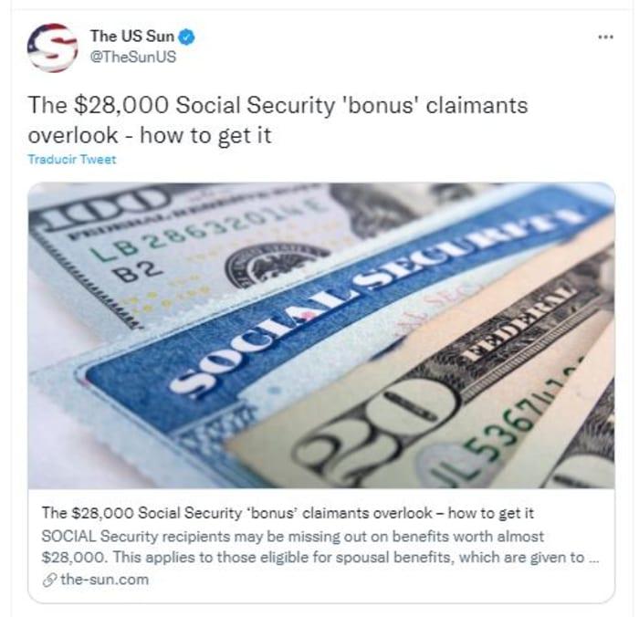 Beneficios de casi 28 mil dólares
