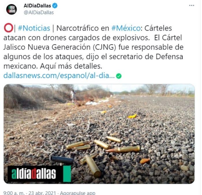 Cárteles atacan drones CJNG 2