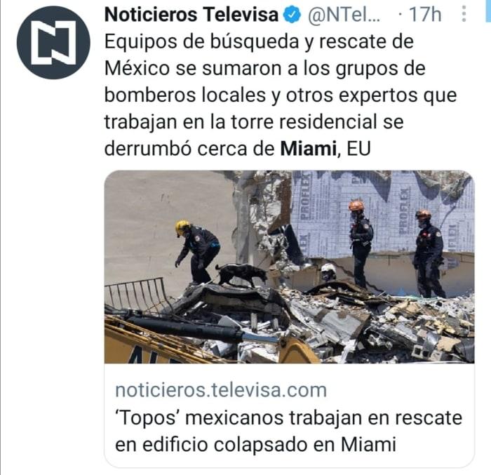 Topos mexicanos en Miami