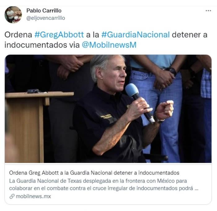 Guardia Nacional detención indocumentados: Ya lo había anunciado