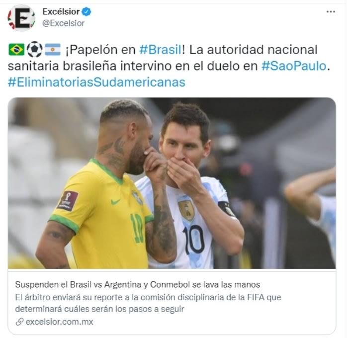 Partido futbol Brasil Argentina deportar argentinos