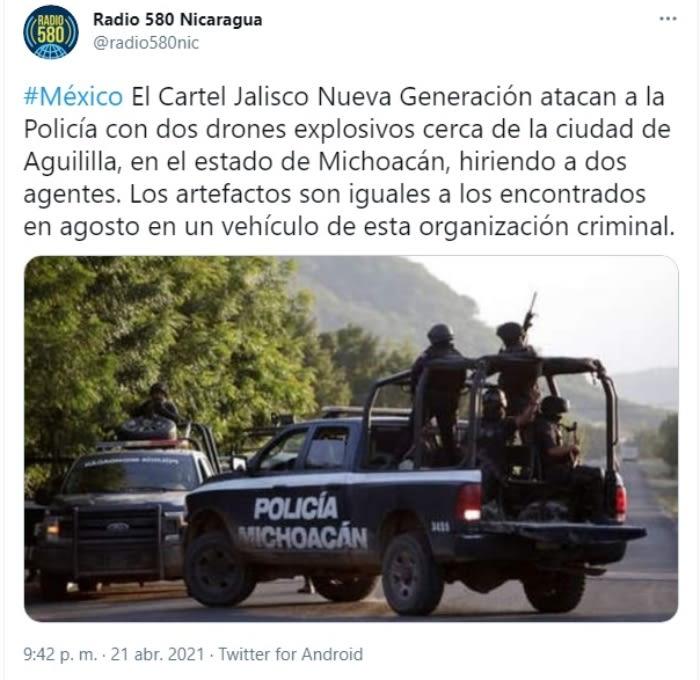 Cárteles atacan drones CJNG 4