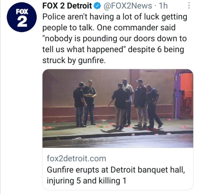 Tiroteo en Detroit
