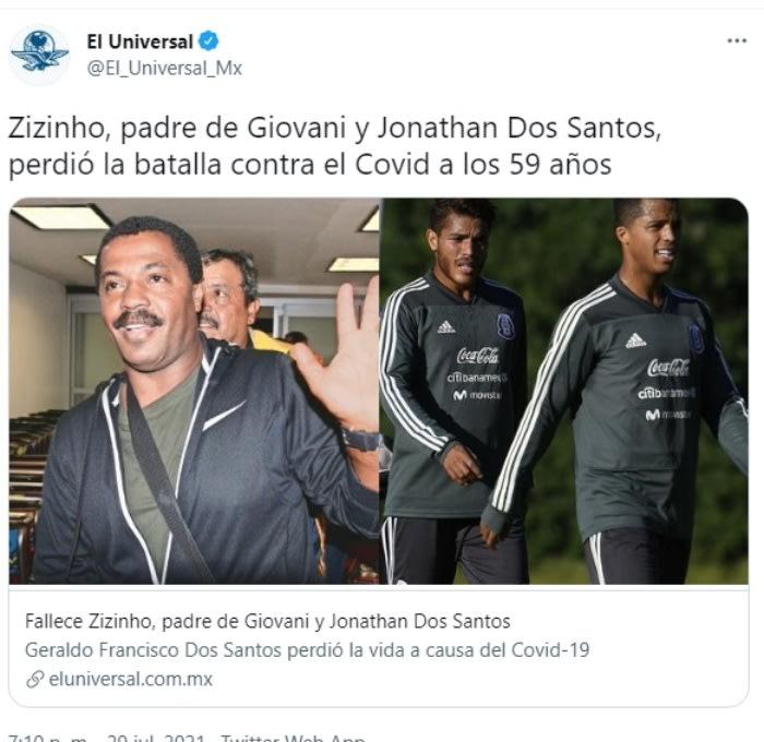 padre de Giovani Dos Santos