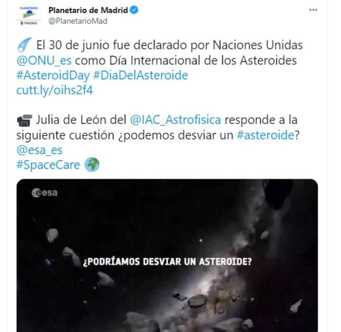 asteroide 2021 GM4