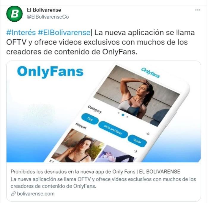 OnlyFans prohíbe pornografía: Un servició gratuito