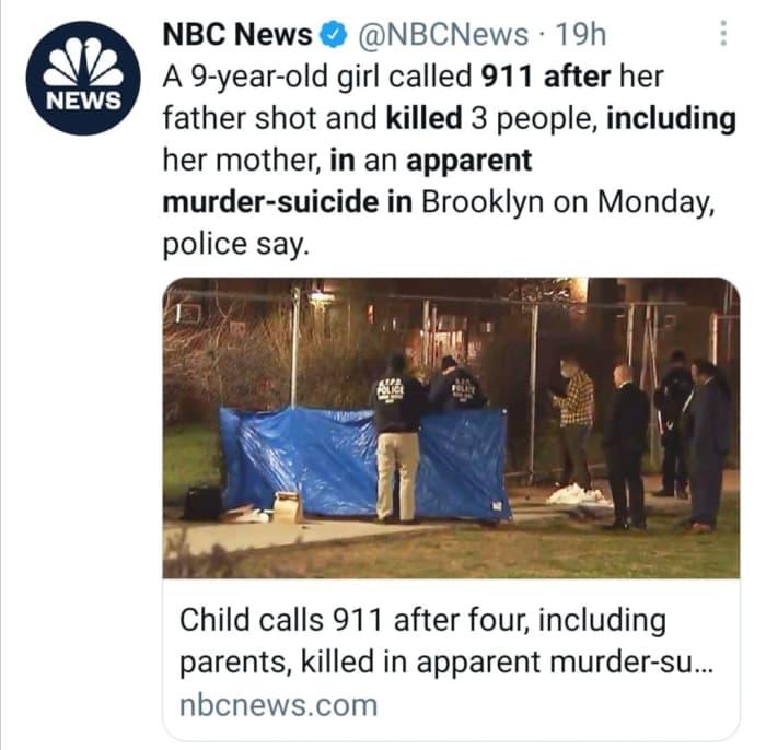 Girl 911 shooting Brooklyn
