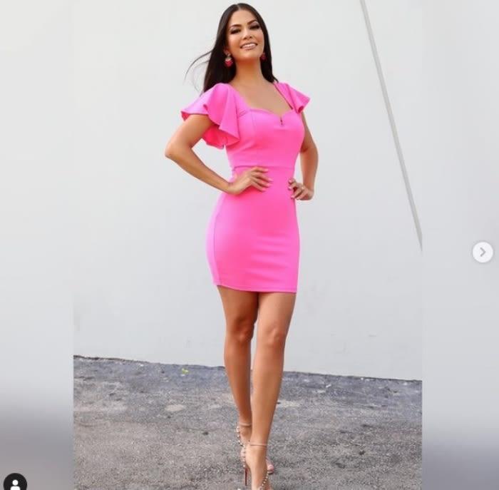 Ana Patricia Gámez Yate: Acapara las miradas