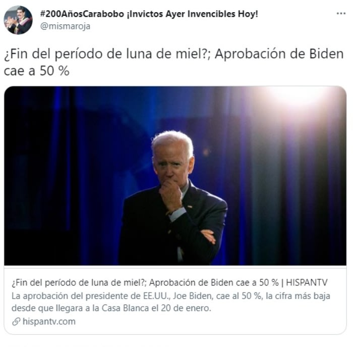 Aprobación Joe Biden cae: Reacción de los usuarios