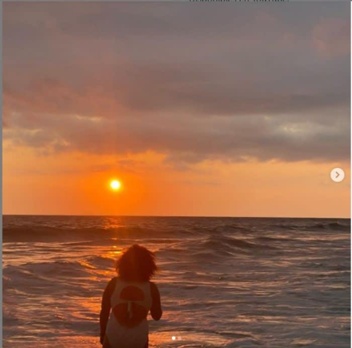 Hija Lucero accidente playa
