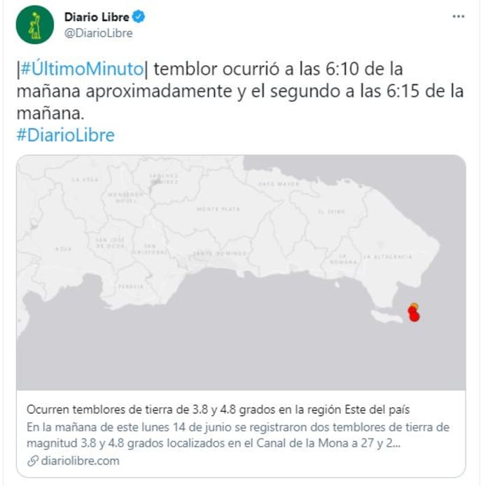 sismos en República Dominicana