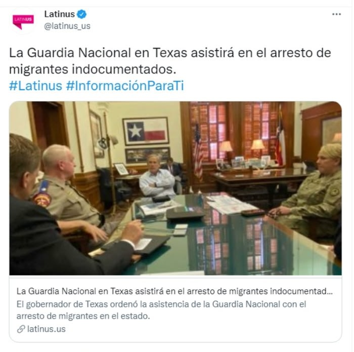 National Guard undocumented detention: They have been criticized