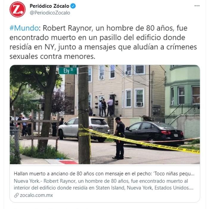 Asesinan hombre dejan mensaje: Tenía más mensajes