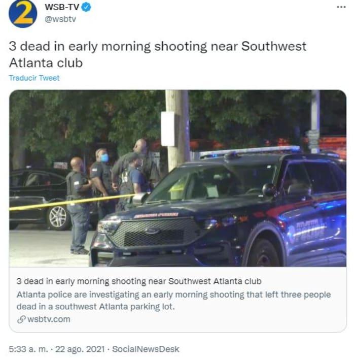Shooting in Atlanta