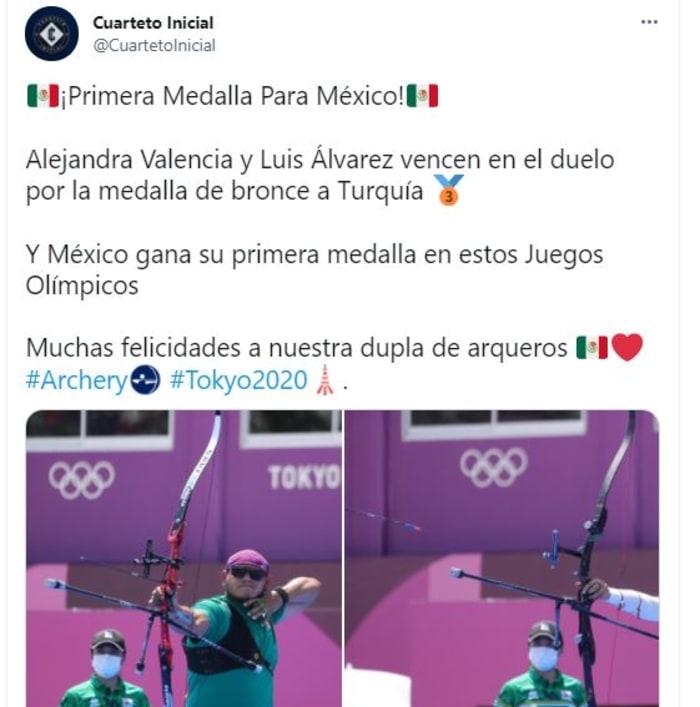 La contienda para lograr la medalla para México en Juegos Olímpicos