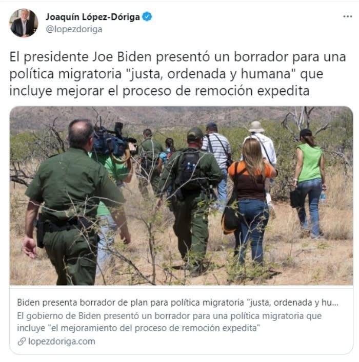 """Casa Blanca indocumentados asilo: Biden reanuda las deportaciones expeditas de """"ciertos grupos familiares"""""""