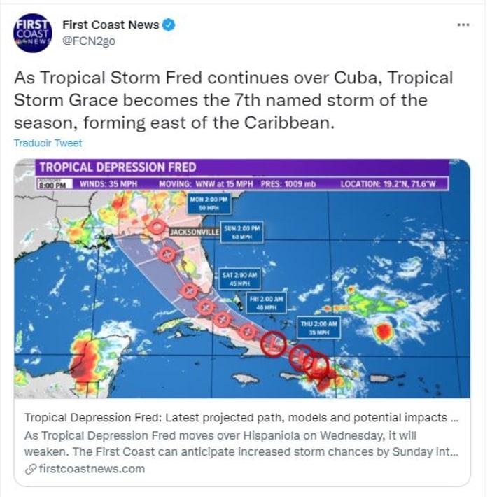 Miles de habitantes sin electricidad por la tormenta en el Caribe